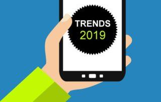 Smartphone: Trends 2019 - Flat Design