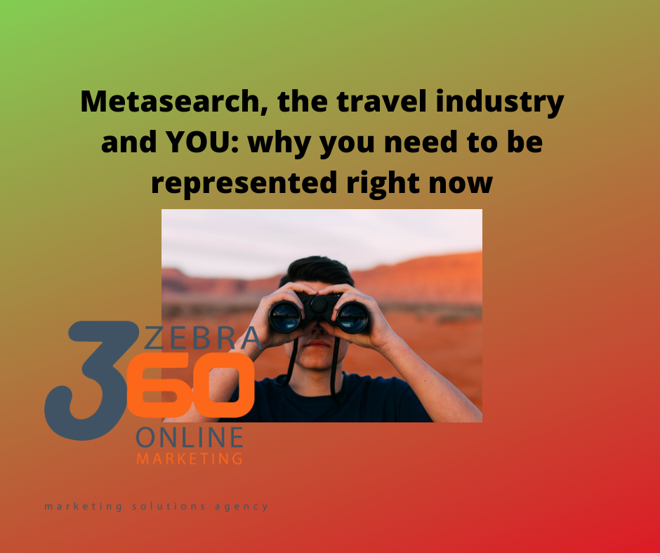 Metasearch the travel industry and YOU  why you need to be represented right now 1